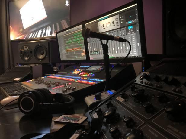 London West End's Umbrella Sound Studios Installation