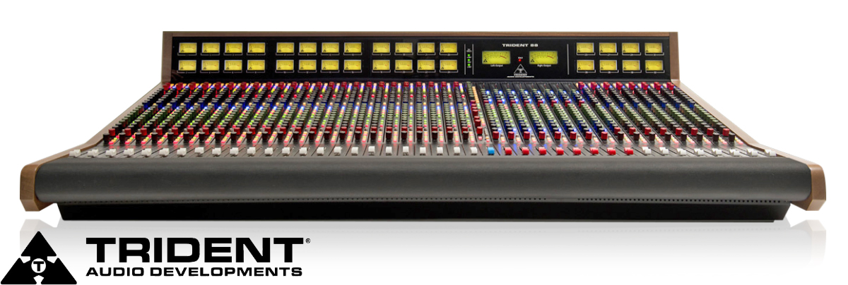 Trident 88 Series Mixing Console available from Kazbar Systems