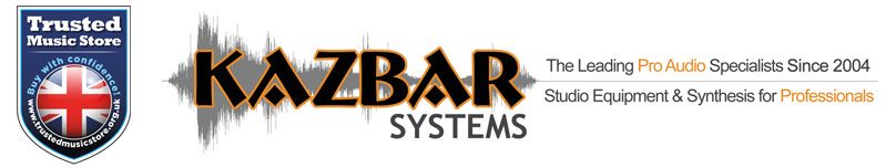 Kazbar are a trusted music store