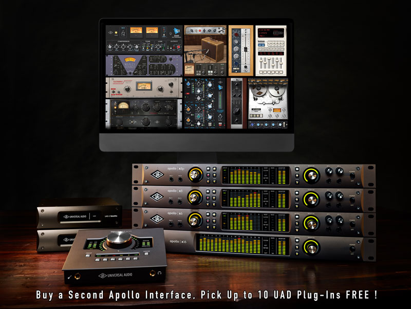 Universal Audio Apollo X Double Down Promotion