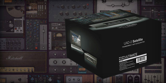 Universal Audio Ultimate 7 Package Now Available for UAD & Apollo Platforms