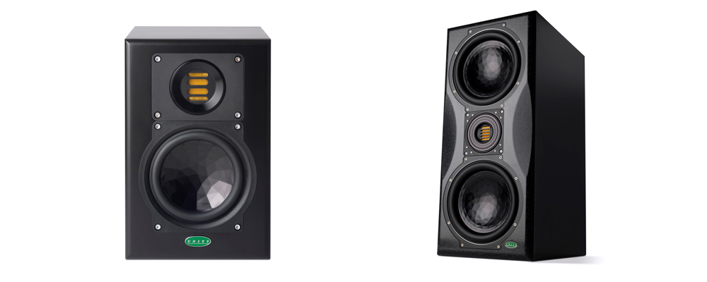 Unity Audio Speakers available form Kazbar Systems, the UK's premier Pro Audio Sales & Studio Installation Company