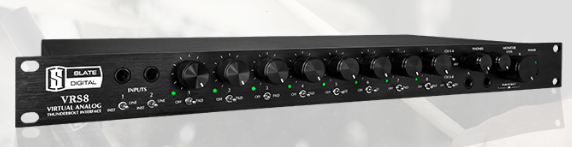 Slate VRS-8 Virtual Analogue Interface available from Kazbar Systems